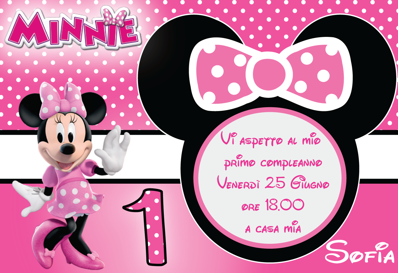 Inviti Minnie Bowtique