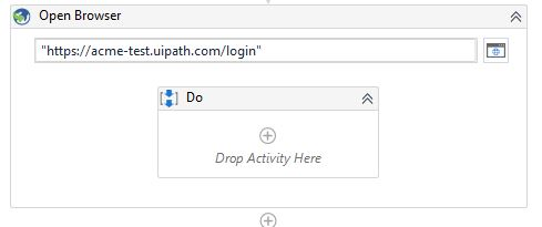 UiPath-open-browser-activity